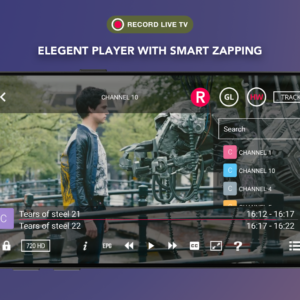 GSE SMART IPTV screen 2
