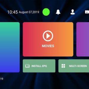 IPTV Smarters Pro screen 2